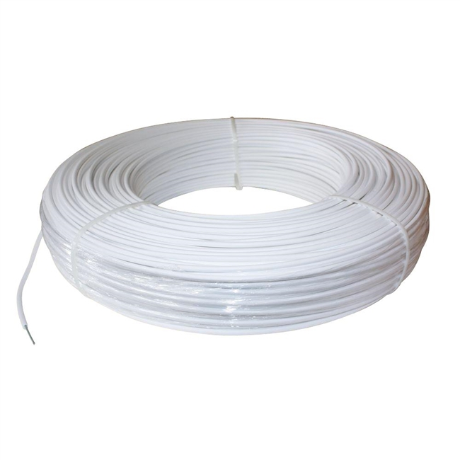 High-Tensile Poly Coated Electric Fence Cable (1320' Roll)