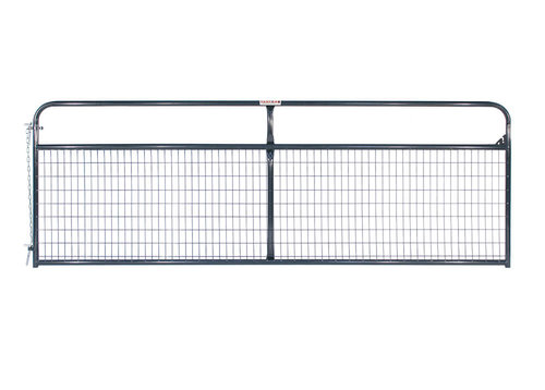 Wire Filled Gate - Grey