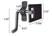 Gate Latch (Bracket and Keeper)