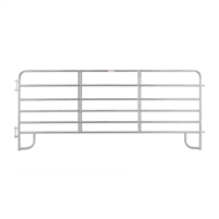 6-Bar Economy Corral Panel - Galvanized