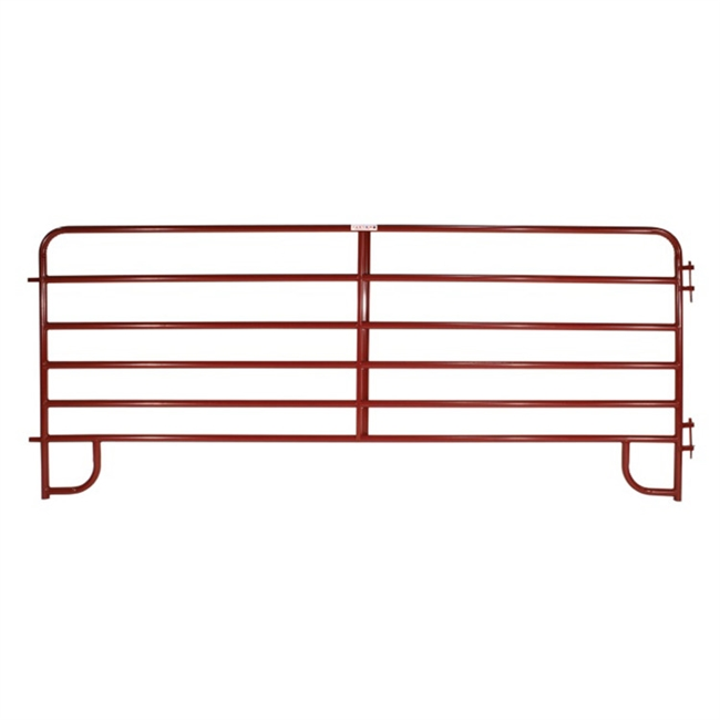 6-Bar Economy Corral Panel - Red