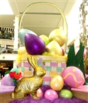 "Fiberglass Solid color Easter Eggs from 15"" to 96"""