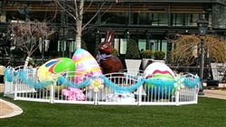 "18"" to 8' Giant Fiberglass Easter Eggs"