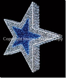 Giant LED Lit Stars
