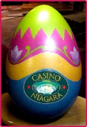 "48"" to 8' Custom Eggs with Your Logo"