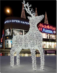 Reindeer with LED Lights
