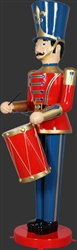 Fiberglass Toy Soldier with drum