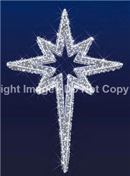 3-D Moravian star with LED Lights