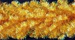 "Champagne Branched Garland 14"" X 25' lengths"
