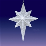 "39"" 3-D hanging star with LED lights"