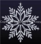 giant snowflake for wall mount