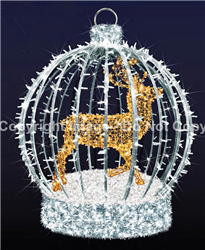 3-D Giant ornament with LED lights