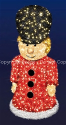 Toy Soldier Boy with Garland