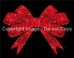Facade lighted Red Bow