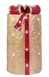 Fiberglass lighted Gift Box