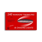 140 chasing twinkling mini lights