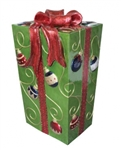 Fiberglass gift Box with Ornaments pattern
