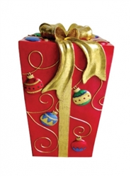 Gift Box with ornament pattern