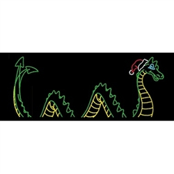 Animated Sea Serpent with standard or LED Bulbs