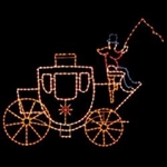 Led 11' Victorian Coach