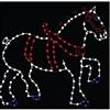 9' Clydesdale Horse with C7 LED bulbs