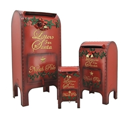 Santa's letters mailbox with door