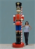 10' tall fiberglass toy soldier