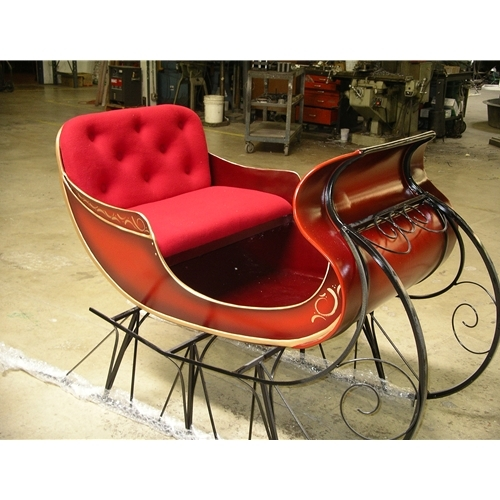 Decorative Christmas Santa Sleigh Decorations Indoors Or Outdoors Fibregl Red Find Complete Details About