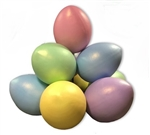 "48""  Easter Eggs stack with frame"