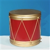 Hand Painted Giant Drum with Gold Metallic paint