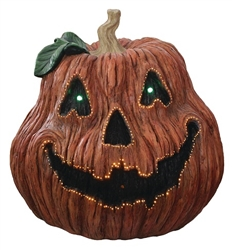 "18"" Fiber Optic Musical Jack-o-Lantern"