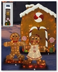 Illuminated Gingerbread House
