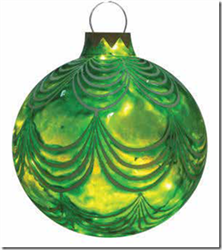 "12"" and 15"" lighted Ornament"