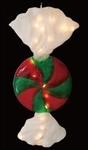 "26.4"" Giant Wrapped Candy Disc Ornament"