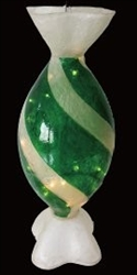 Green & Frost Illuminated oval Candy