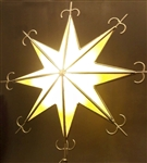 Tree Topper Mediterranean Star lit internally