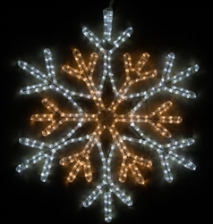 Extra large 36 point Center snowflake