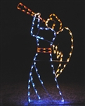 Heralding Angel with C7 LED lights