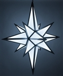 Large Multi color Moravian Star