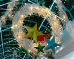 LED Lighted Manzanita Giant Wreath