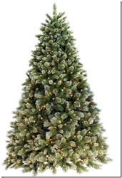 7.5' and 9' Lighted Cashmere Fir Trees