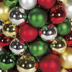 unlit mixed ball garland