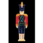 16' x 5' Giant Standing LED Toy Soldier