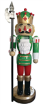 "75"" Nutcracker with Axe"