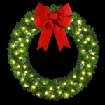 "2D Large Ring Wall Wreaths 72"" to 144"""