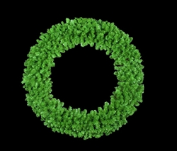 "Unlit 3D 72"" wall mount Wreath"