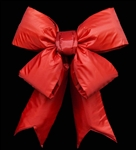Structural Red Nylon Bows