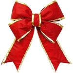 "18"" and 24"" Structural Nylon Bow with Gold trim"