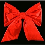 Commercial Red Nylon bows