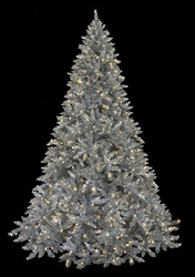 Silver full size 9' tree